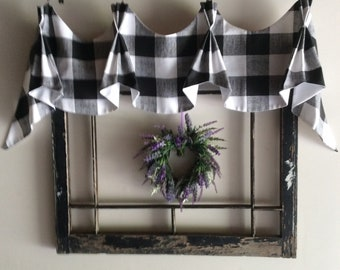 Astonishing Farmhouse Valance Etsy Download Free Architecture Designs Estepponolmadebymaigaardcom