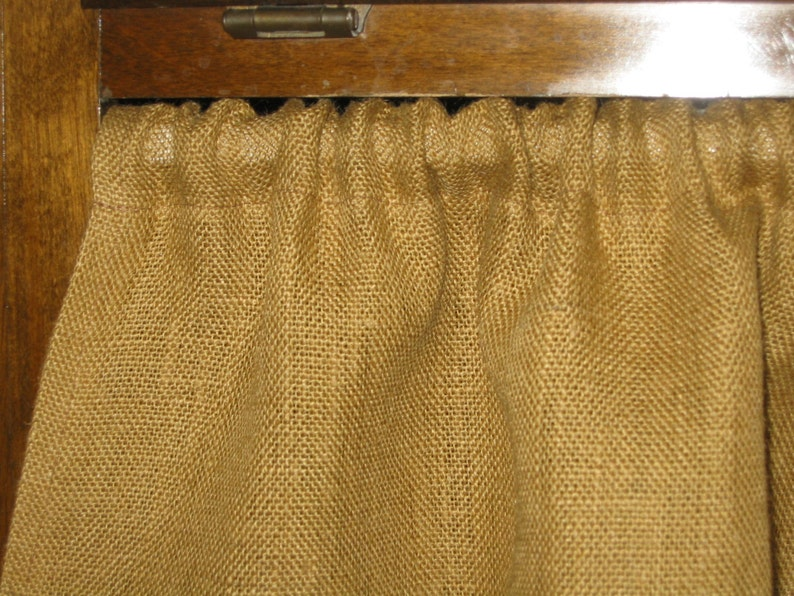 The Farmhouse Kitchen Sink Skirt/ Cabinet Curtain Covers ...