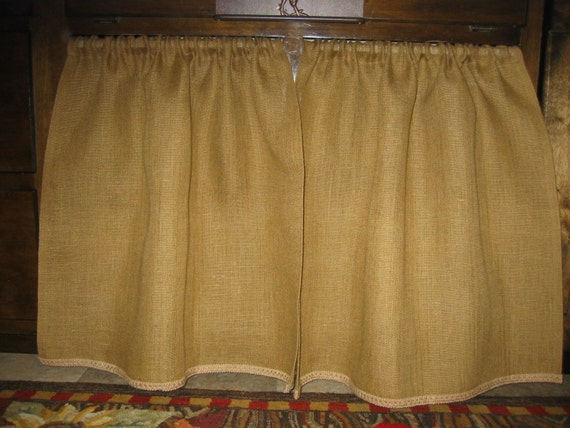 The Farmhouse Kitchen Sink Skirt Cabinet Curtain Covers Vanity Skirt Or Cafe Style Panels For Windows
