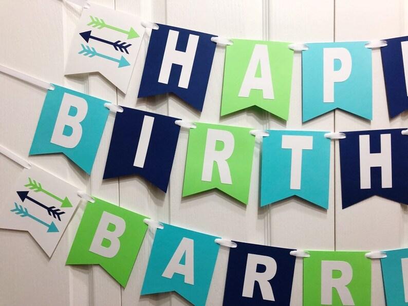 arrow bithday party arrow arrow first birthday cake smash strawberry arrow banner arrow birthday Arrow party boy blue banner