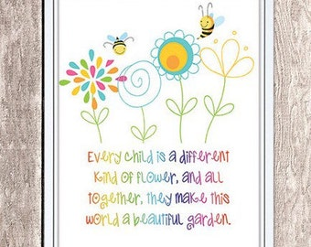 Every Child Flower Etsy