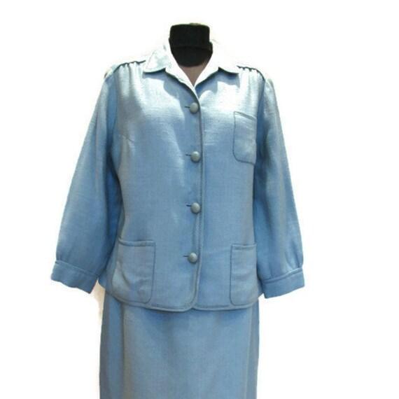Hermes jacket, Hermes skirt, Hermes suit, vintage