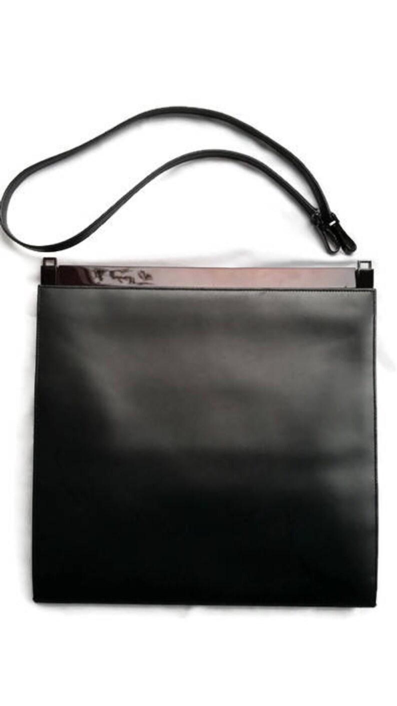 92836e9098b359 Sale Vintage Gucci leather handbag gucci bag gun metal grey   Etsy