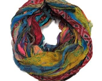 Quality Sari Silk ribbons Yarns and Weaving Supplies by SilkDivine