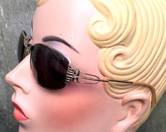 48a63bc80 Jean Paul Gaultier Sunglasses 56-5103 / Gold Metal Japan Vintage 1990s /  NEW Old Stock! NOS