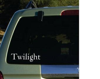Twilight  vinyl sticker