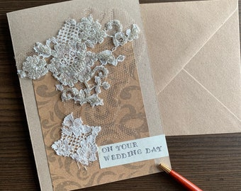 On Your Wedding Day Card, Wedding Card for Bride and Groom, for Couple
