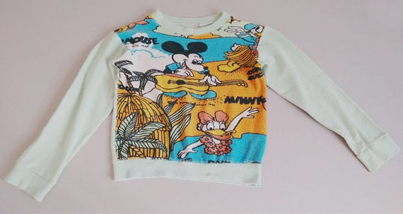 Mickey Mouse T-shirt,VINTAGE Children's 60's Micke
