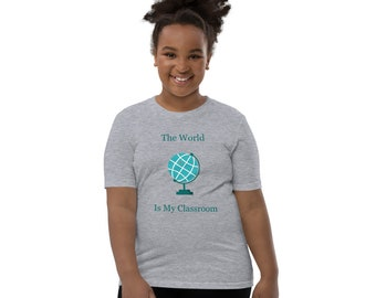Youth Short Sleeve T-Shirt, Youth Back To School Tee, Girls T-shirt, Boys T-Shirt, Youth Tee