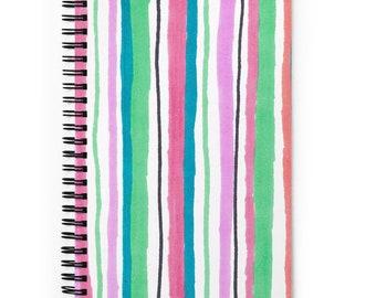Spiral notebook, Back to School Notebook, Study Notebook, Blank Notebook, Class Notebook