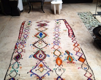 Reserved for Jay -Vintage Moroccan rug - Azilal