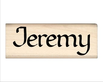 Jeremy - Name Rubber Stamp for Kids