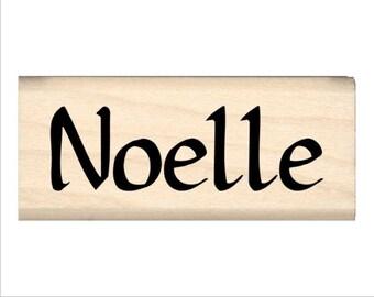 Noelle - Name Rubber Stamp for Kids