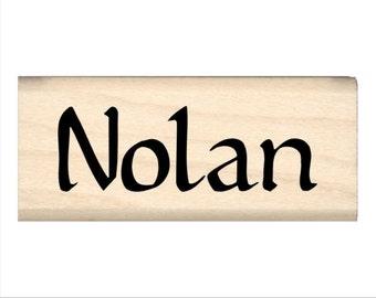 Nolan - Name Rubber Stamp for Kids