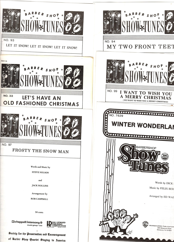 6 Barber Shop Weihnachtslieder Mint 70er und 80.s cond | Etsy