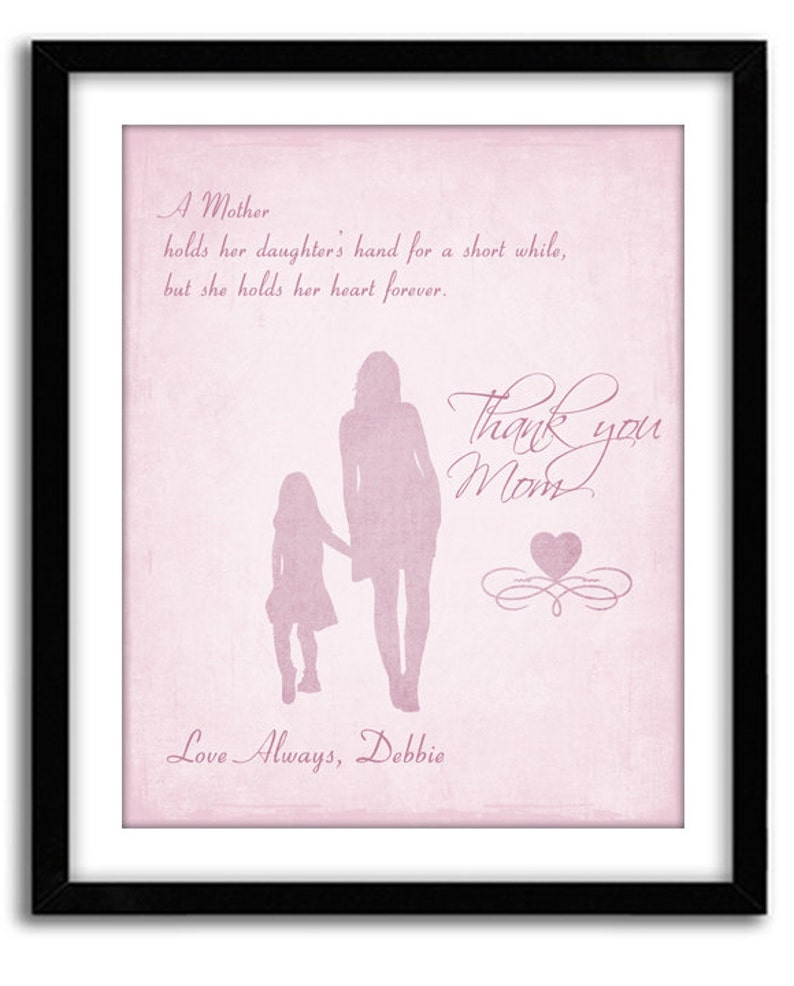 Personalized Motherss Day Gift Birthday For Mom
