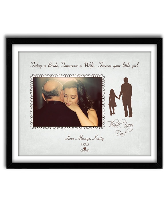Father Of The Bride Wedding Gift Thank You Wedding Gift