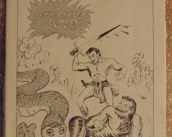 Lost on Jupiter - A John Carter of Mars Romance 1962 zine fanzine sci fi fantasy book magazine
