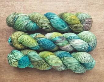 Siren - superwash merino/nylon sock yarn (463 yards) fingering weight