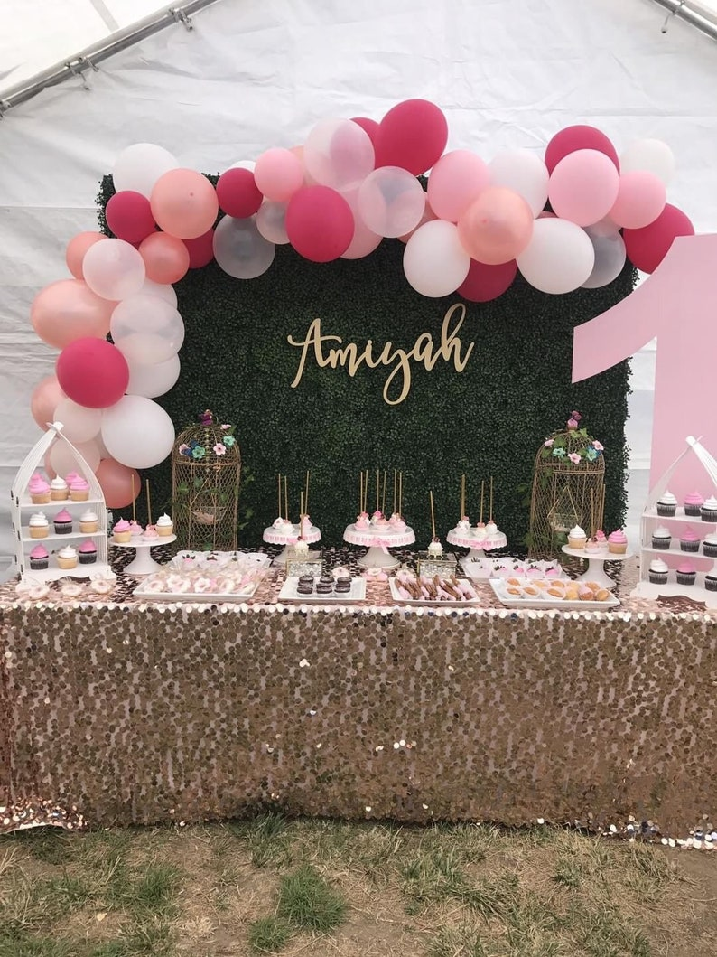 Personalized Name Sign Custom Name Sign Birthday Sign image 0