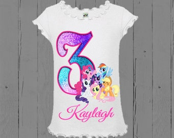 My Little Pony Birthday Shirt - My Little Pony Shirt