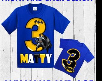 Batman Birthday Shirt - Batman Shirt