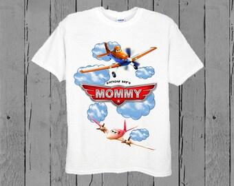 Disney Planes Mom Shirt - Planes Birthday Mom Shirt