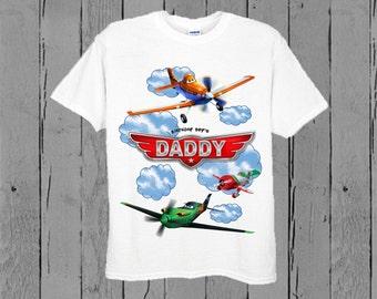 Disney Planes Dad Shirt - Disney Planes Dad Birthday Shirt