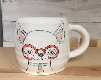 All business Chihuahua Mug ceramic handmade