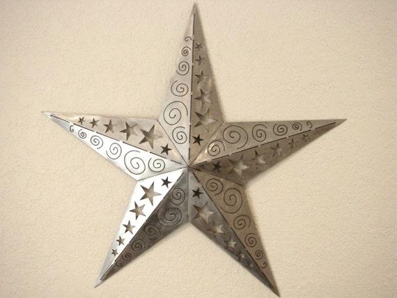 3D Ornamental Texas Star Metal Wall Art   Etsy
