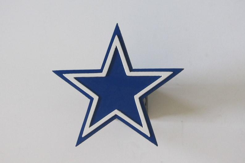 b42ade91de2 Dallas Cowboy Star Traieler Hitch Cover