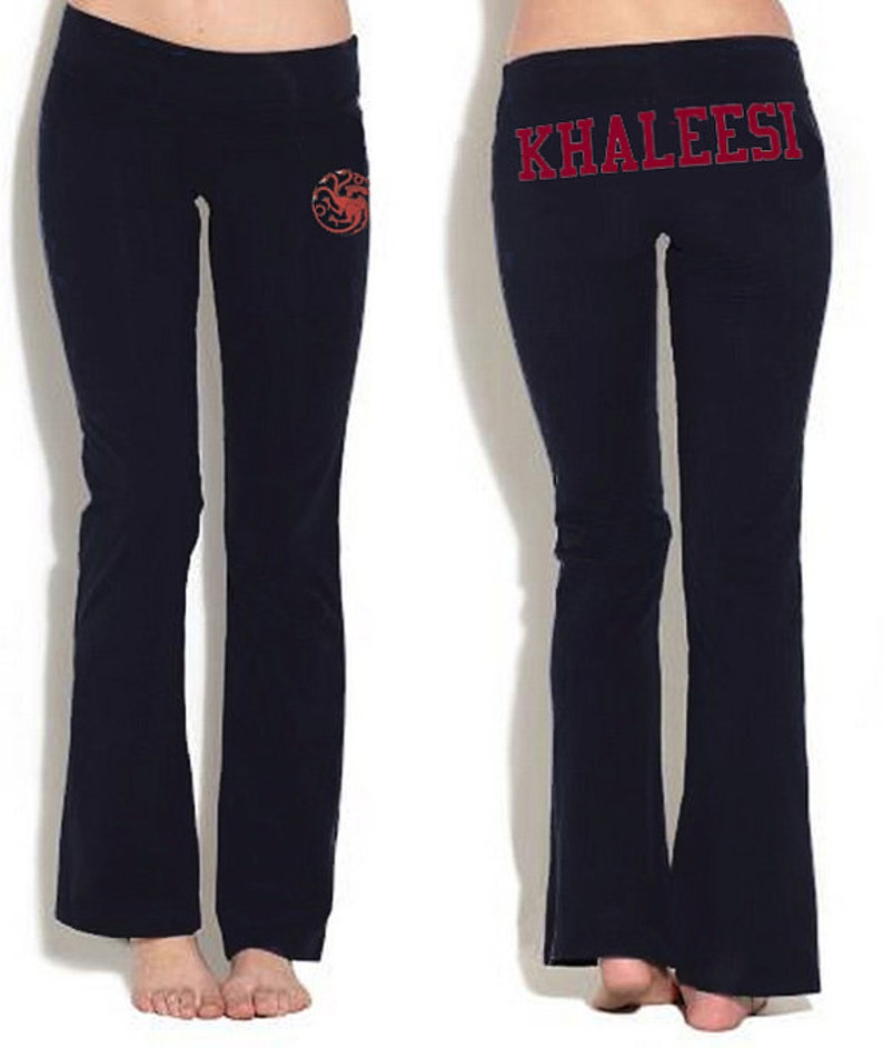 18be112840625a Game of Thrones or Custom Yoga Pants