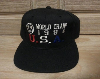 ed9f2a71061 1994 World Cup USA Deadstock Mint snapback hat!