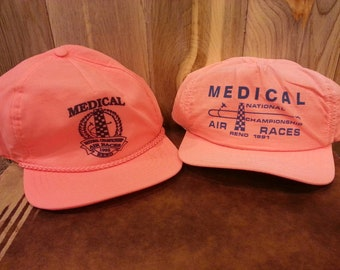 1991 & 1992 Reno Air Show Race Championship 6 panel snapback hat!