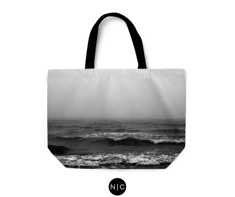 24x13 Inch Wide Mouth T-Bottom Beach Boho Chic Market Shopping Summer Essential Shoulder Bag Accessory Tote Weekender Tote Black Fog