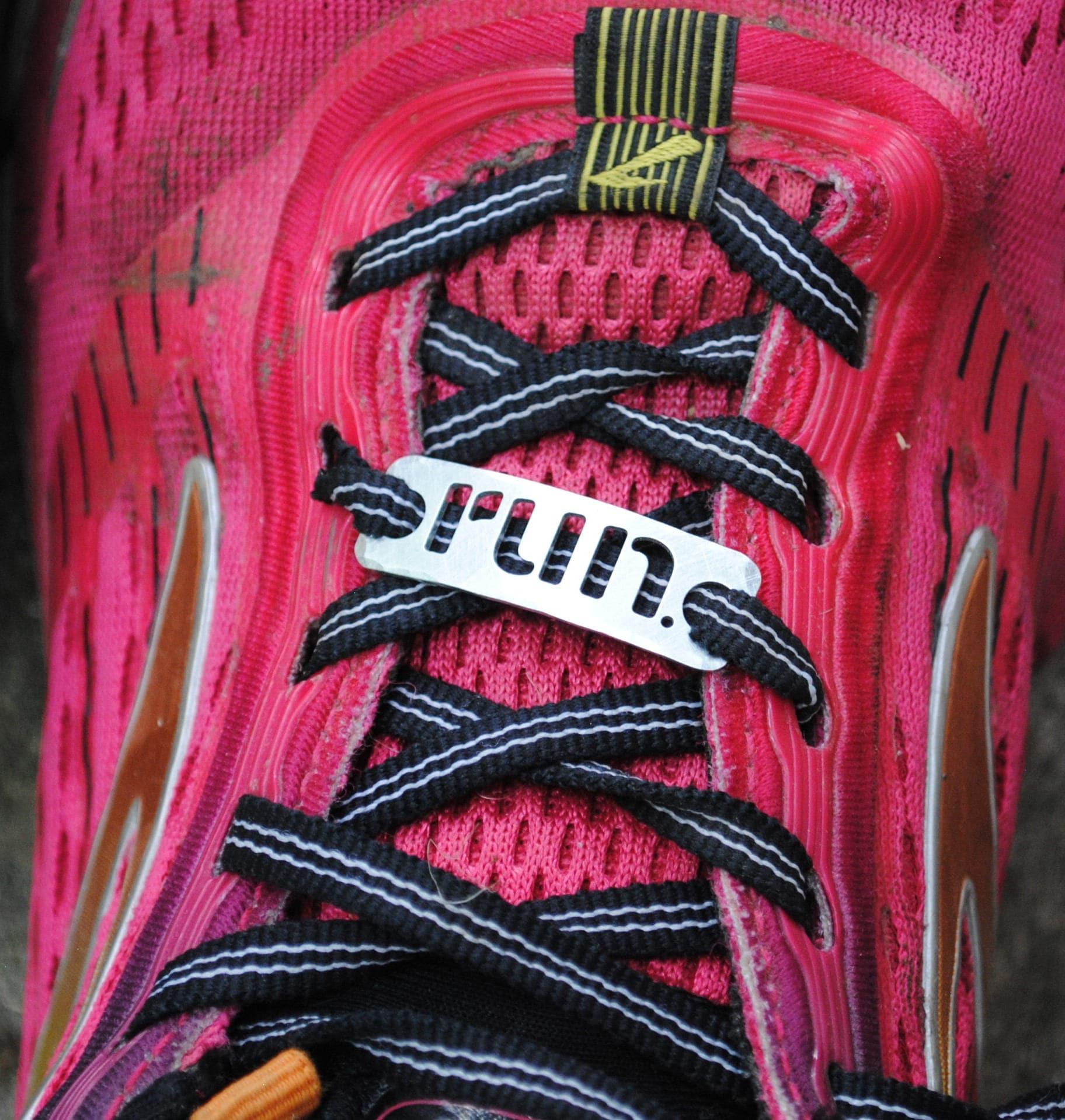 Custom Made Running Trainer Tag CUTOUTS . run . 5K . 10K . 13.1 . 26.2 . XC running gift . Custom Gift for the runner