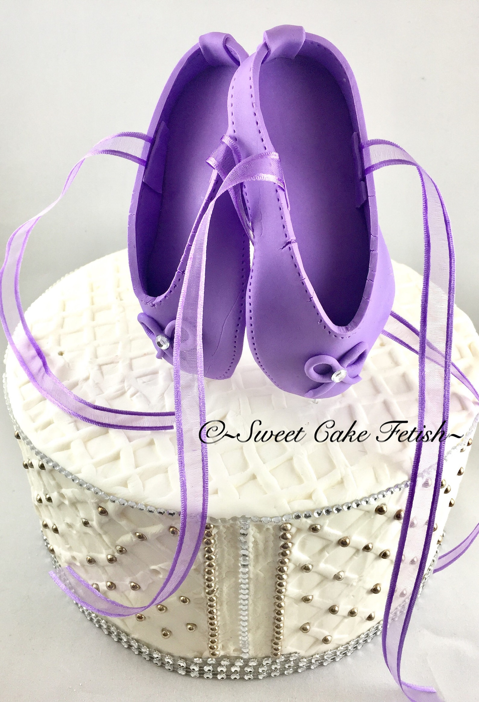 ballerina cake topper gumpaste ballet shoe ballerina birthday topper ballet birthday cake topper ballet party