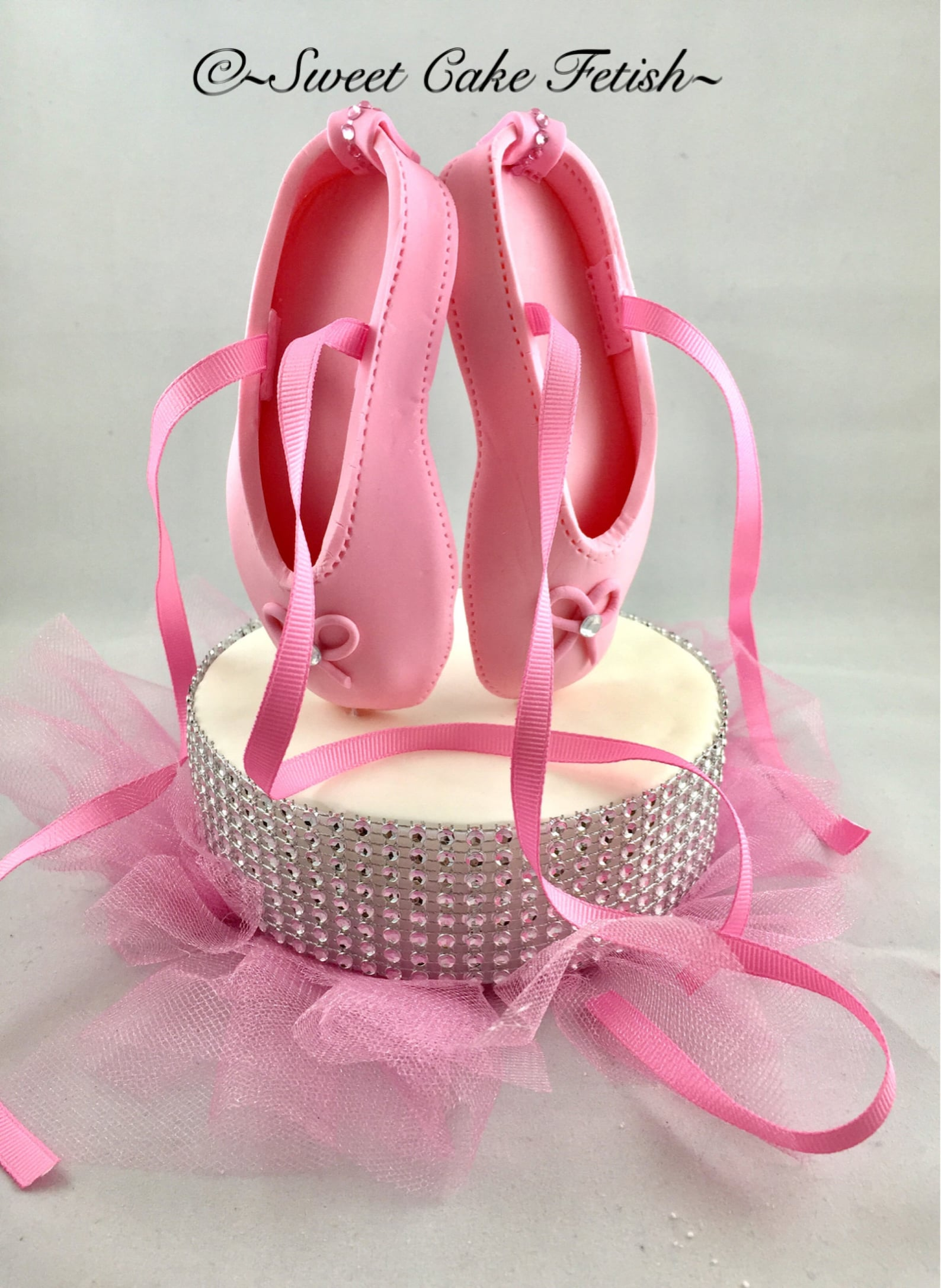ballerina cake topper pink ballet shoes cake topper birthday cake topper ballerina cake decorations ballerina birthday decor bal