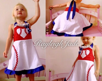 Baseball dress-Red d19b4abdc0