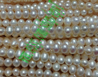 Top quality 3pcs full strand, 6-6.5mm, natural white freshwater pearl necklace Strand,loose pearl,freshwater pearl beads String,eTs25