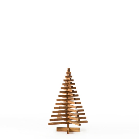 Wooden Bamboo Christmas Tree