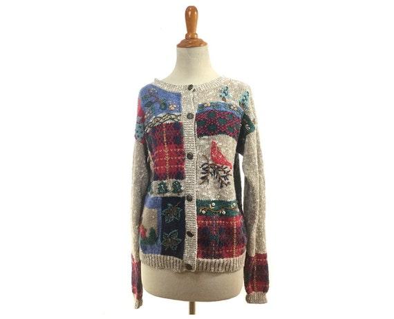 Size S / M Ugly Christmas sweater, tacky Christmas