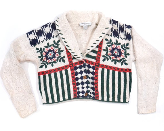 Ugly Christmas sweater M L large tacky Christmas s