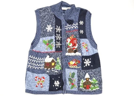 Plus Size Christmas Sweater, Big Tall Ugly Christm