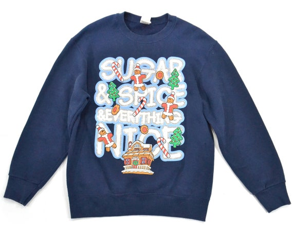 M Sugar Spice Ugly Christmas sweater tacky Christm