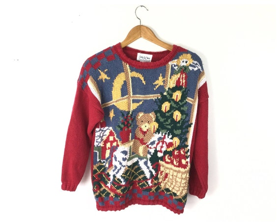 Ugly Christmas sweater, Christmas sweater, vintage