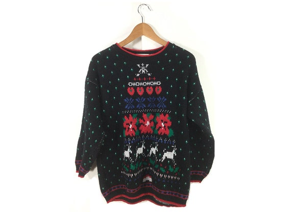 Mens Ugly Christmas Sweater.Mens Ugly Christmas Sweater M L Tacky Christmas Sweater Vintage Christmas Sweater Christmas Womens Men S Cardigan