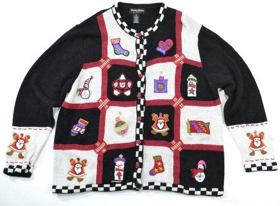 Plus   Santa Christmas Sweater, Big Tall Ugly Chri
