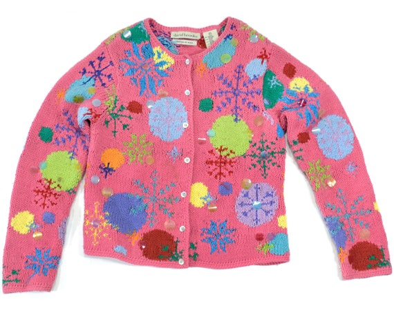 Womens Small Ugly Christmas sweater Tacky Christma