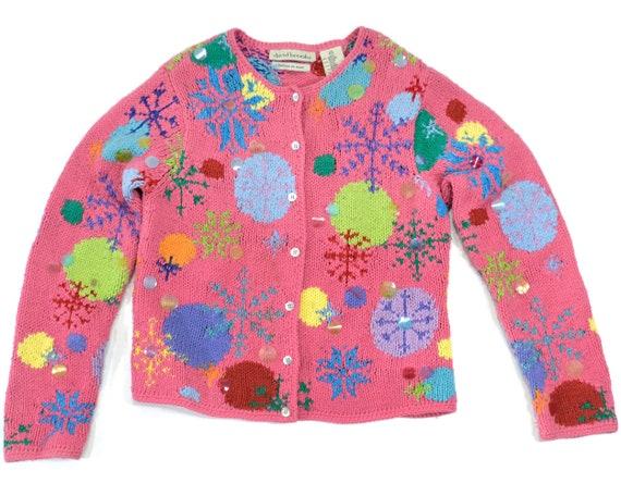 S Vintage Christmas sweater, Ugly Christmas sweate
